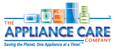 The Appliance Care Company, appliance repair service, in-home service repair, washer repair, dryer repair, stove repair, refrigerator repair logo